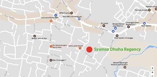 syamsa-dhuha-residence_peta