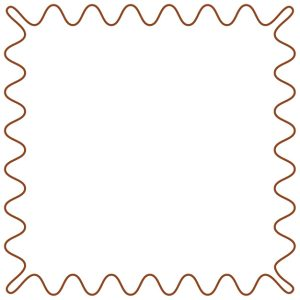 IG Frame Coklat